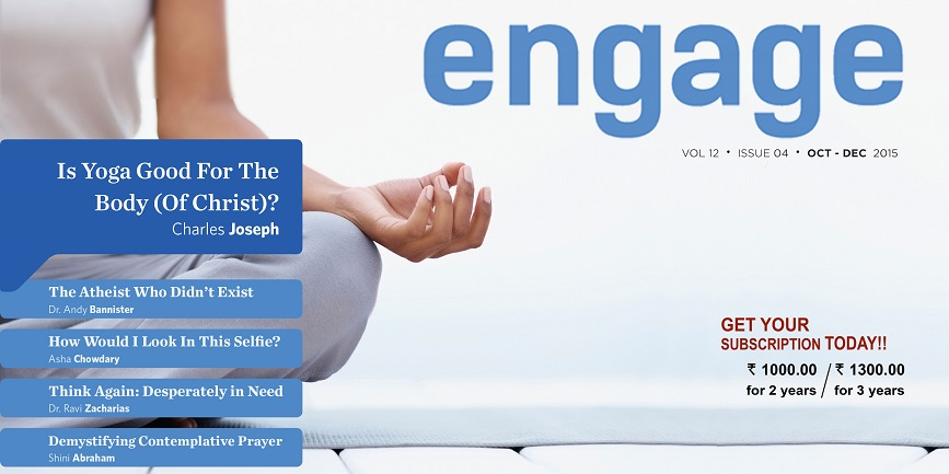 Photo of magazine engage oct 2015
