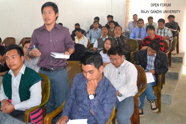Photo of Open forum-rajiv gandhi university