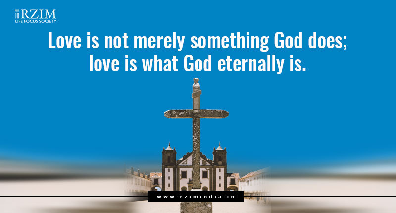 Love is what God eternally is