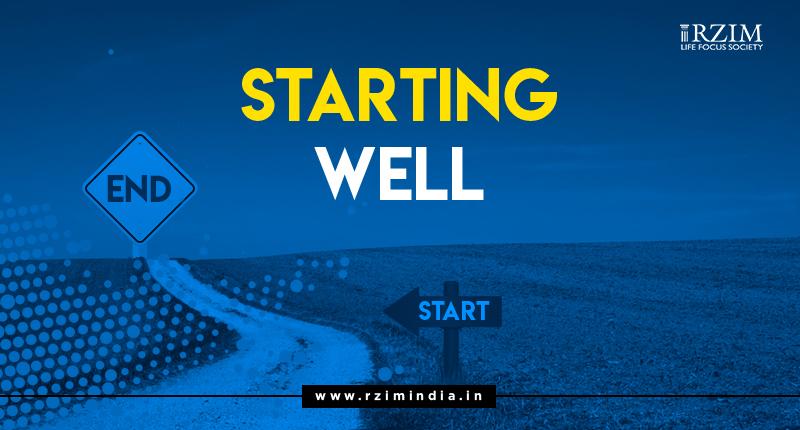 Starting Well