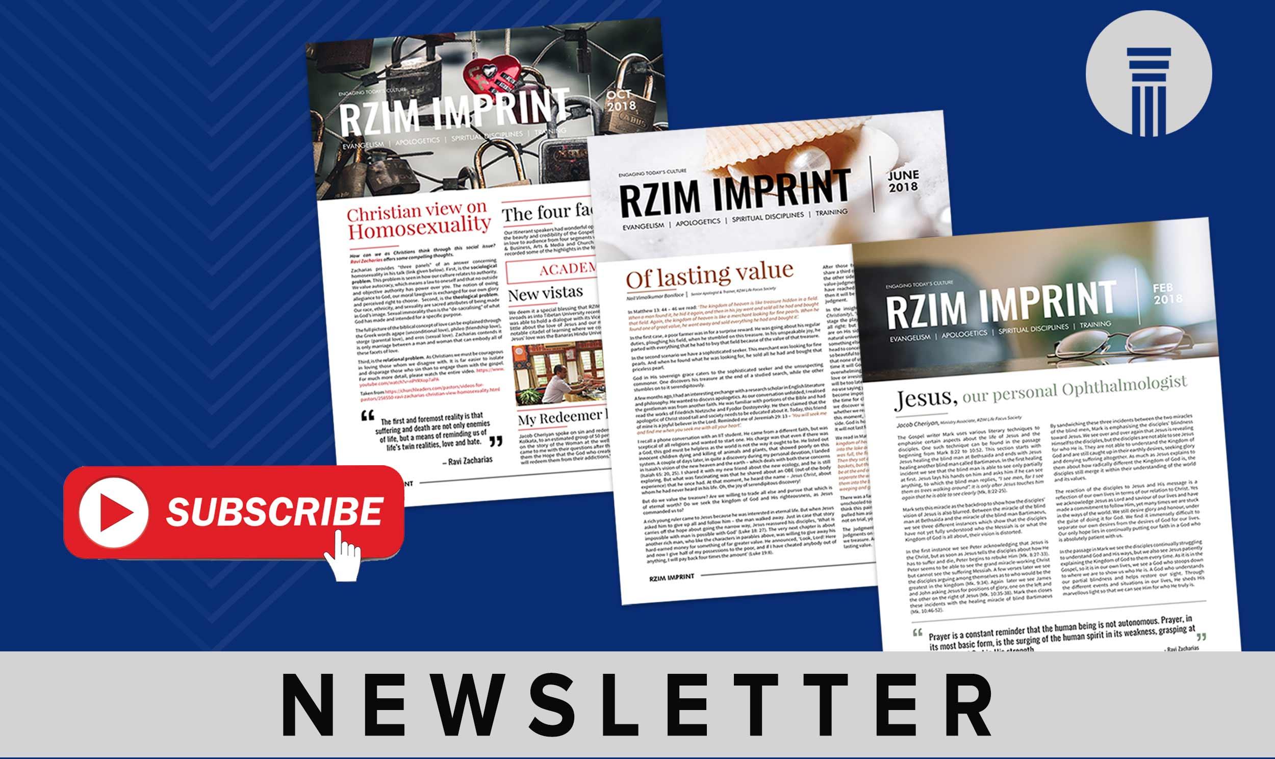 Donate to RZIM India